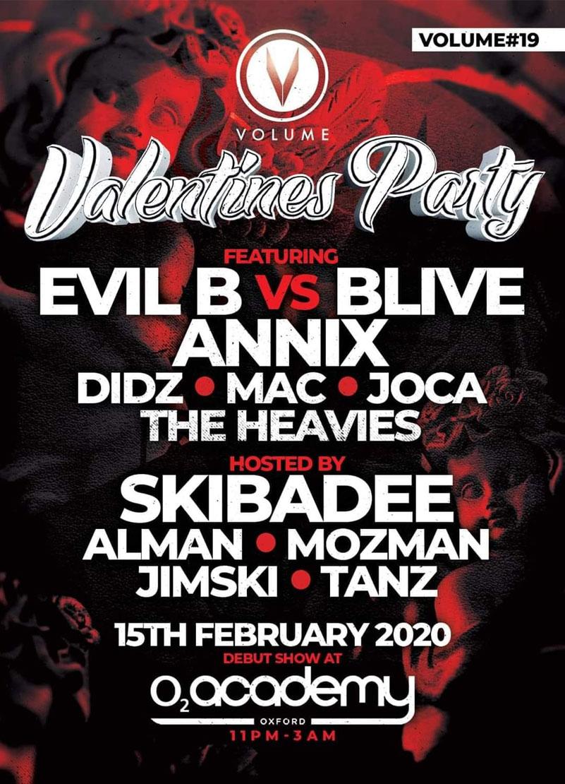 Volume DNB Valentines